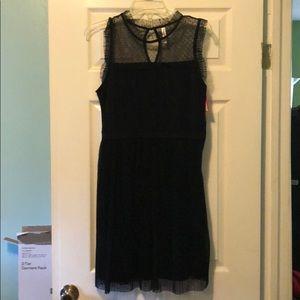 NWT exhilaration black dress